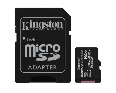 Micro SD 64GB clase 10...