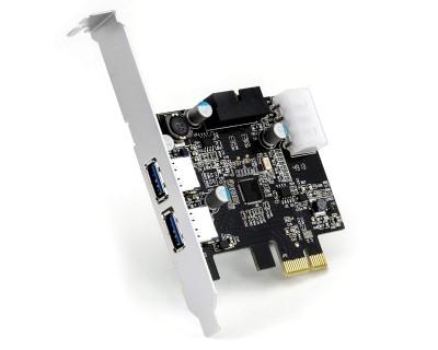 Tarjeta PCI-ex 2P USB 3.0